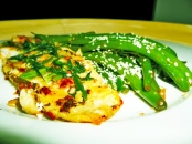 Dairy & Gluten free Basa Fillet with Dill served with Green Beans